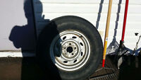 """BRAND NEW NEVER USED 15"""" TIRE AND RIM 225/70/15"""