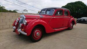 1948 Riley RM Saloon Red 4 Speed Manual Sedan Capalaba Brisbane South East Preview