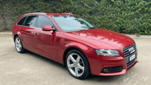 2010 Audi A4 B8 8K MY10 Avant Multitronic Red 8 Speed Constant Variable Wagon Mornington Mornington Peninsula Preview
