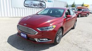2017 Ford Fusion SE AWD Ecoboost