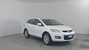 2008 Mazda CX-7 ER Luxury (4x4) Crystal White 6 Speed Auto Activematic Wagon Perth Airport Belmont Area Preview