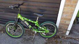 Boys Raleigh Bike For Sale