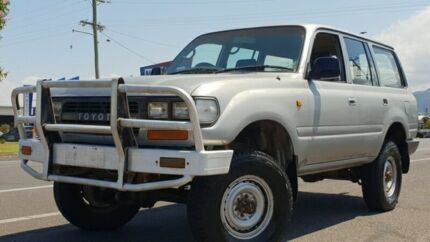 1993 Toyota Landcruiser HZJ80R Standard Silver 5 Speed Manual Wagon Bungalow Cairns City Preview