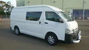 2008 Toyota HiAce KDH221R MY07 Upgrade SLWB White 4 Speed Automatic Van Homebush West Strathfield Area Preview