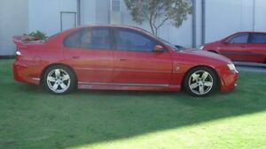 2002 Holden Commodore VY S Red 4 Speed Automatic Sedan Silver Sands Mandurah Area Preview