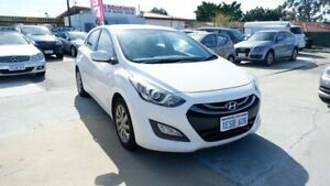 2013 Hyundai i30 GD Active White 6 Speed Sports Automatic Hatchback St James Victoria Park Area Preview