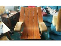 G plan housemaster swivel chair