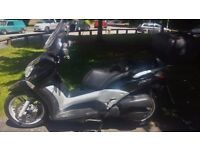 Yamaha VP125/X-City Fully Automatic Scooter For Sale with Loads of storage Inc Helmet if it fits