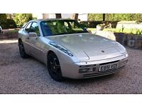 1988 Porsche 944 turbo in Zermatt Silver