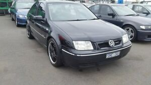 2002 Volkswagen Bora 1J MY2002 V5 Black 5 Speed Manual Sedan Cheltenham Kingston Area Preview