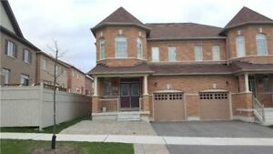 4 Bed 3 Washroom unfinished bsmt semi-detach for rent in markham