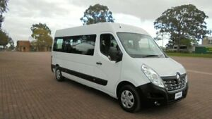 2017 Renault Master X62 MY17 LWB Mid White 6 Speed Automated Manual Bus Condell Park Bankstown Area Preview