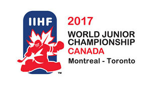 World Jr Tickets - Toronto (ROW 1, SECTION 308)