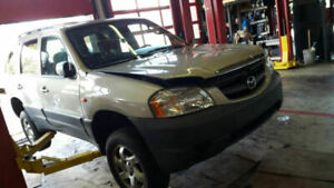 Complete part out 2003 Mazda Tribute 2WD