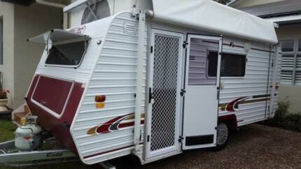 Traveller Storm Pop-Top Caravan 16ft Fassifern Lake Macquarie Area Preview