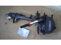 yamaha 2.5hp outboard petrol boat engine short shaft brand new never been used.