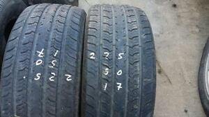 Two Cooper  17 inch tires for sale