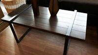 ASHLEY SLAYERVILLE COFFEE TABLE AND END TABLES
