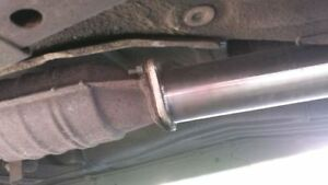 """240sx S13 Exhaust 3"""" Stainless Cat-Back w/ 4"""" tip London Ontario image 4"""
