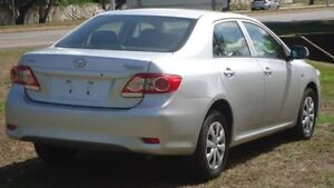 2013 Toyota Corolla ZRE172R Ascent S-CVT Silver 7 Speed Constant Variable Sedan