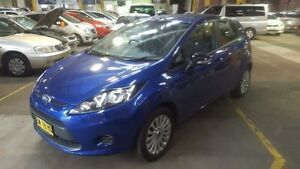 2013 Ford Fiesta WT LX Blue 6 Speed Automatic Hatchback Georgetown Newcastle Area Preview