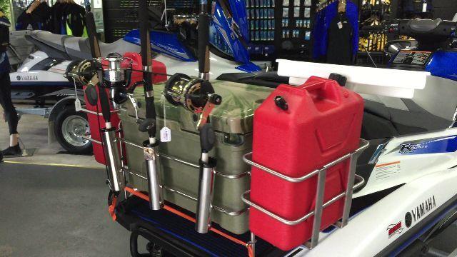 Jet ski fishing rack jetski fishing accessories jetski rod for Jet ski fishing setup