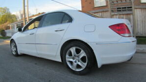 """BELLE ACURA RL """"TOP DELUXE"""" 2007 AWD 170000 KM, TOIT, GPS, MAGS."""