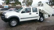 2005 Holden Rodeo RA LT (4x4) White 5 Speed Manual Crewcab Maidstone Maribyrnong Area Preview