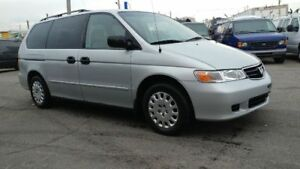 2002 HONDA ODYSSEY 7 PASSENGER EXTRA CLEAN FOR WORK OR FAMILY