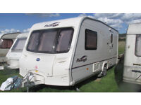 BAILEY PAGEANT series 5 ~ 2 berth 2006 ~MOTOR MOVER ~AWNING