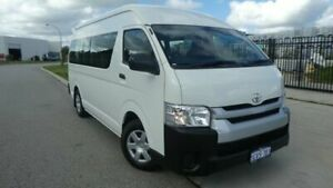2015 Toyota HiAce KDH223R Commuter High Roof Super LWB French Vanilla 4 Speed Automatic Bus Bassendean Bassendean Area Preview