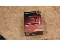 REMINGTON hair gift set boxed hairdryer and straighteners as new. ideal present