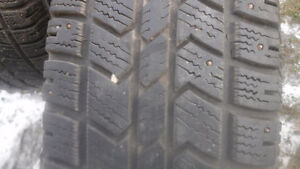 2 LT 265/70 R 17 STUDDED WINTER TIRES (10 PLY)