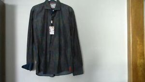 Mans 7 Downie Street London Designer Shirt [new] Large 80% off