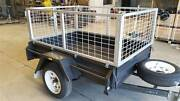 Galvanised Trailer Cage, 7x5 600mm, Heavy Duty Cage Only, New Delacombe Ballarat City Preview