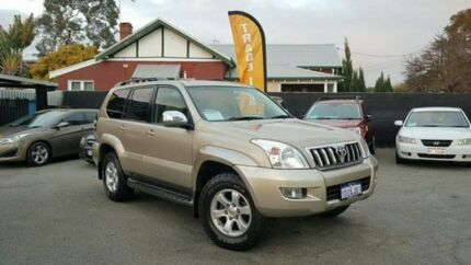 2005 Toyota Landcruiser Prado GRJ120R VX Gold 4 Speed Automatic Wagon