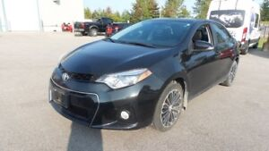 2015 Toyota Corolla S Navi, Leather, Backup Camera