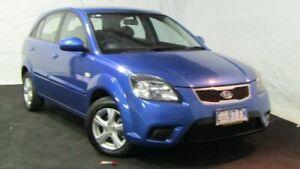 2011 Kia Rio JB MY11 S Blue 5 Speed Manual Hatchback Derwent Park Glenorchy Area Preview