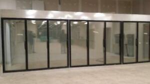 Glass door coolers and freezers for sale!