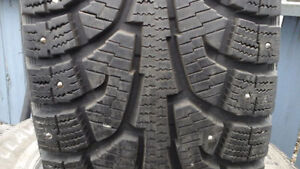 265/70 R 17 STUDDED HANKOOK WINTER TIRES