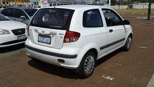 2003 Hyundai Getz TB GL White 5 Speed Manual Hatchback Victoria Park Victoria Park Area Preview