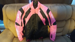 Ladies Padded Motorcycle Jacket