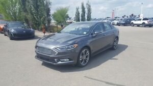 2017 Ford Fusion AWD TITANIUM Navigation (GPS),  Leather,  Heate