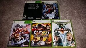 Fighting Games for XBOX 360 (Various Prices)