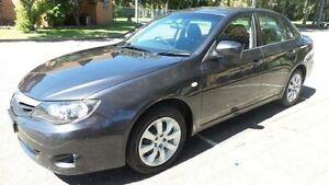 2010 Subaru Impreza MY10 R (AWD) Black 5 Speed Manual Sedan Granville Parramatta Area Preview