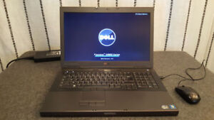 large laptop dell 17'; professional / i7 ( 8 cores , 8 mo cache