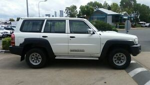 2011 Nissan Patrol GU 7 MY10 DX Pearl White 4 Speed Automatic Wagon Acacia Ridge Brisbane South West Preview