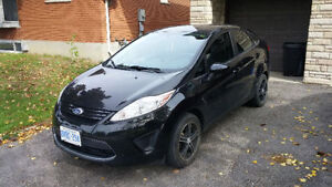 2011 Ford Fiesta Sedan! Low KM! Comes with new winters!