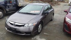 2010 Civic 4 Door Std **NEW MVI TODAY** Call or Text 209-9180