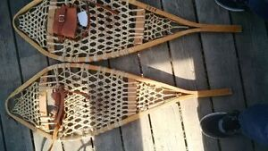Wooden snowshoes, very nice condition, $125 Kitchener / Waterloo Kitchener Area image 2